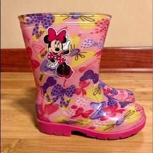 Disney Minnie Girl Rainboot.